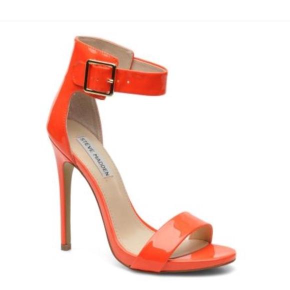 ce2baea02ba Marlenee Neon Orange Heels. M 5a406bd433162753d301ead9